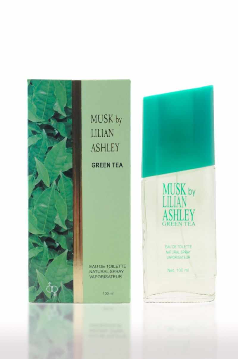 Musk By Lilian Ashley 100ml : Green Tea Parfum Original Untuk Wanita Murah Berkualitas