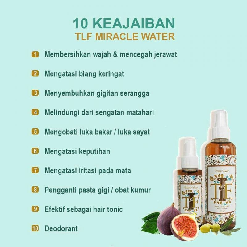 TLF Miracle Water Multifungsi