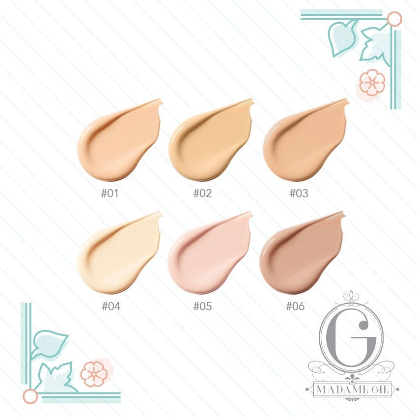 All Color Total Cover BB Cushion Madame Gie